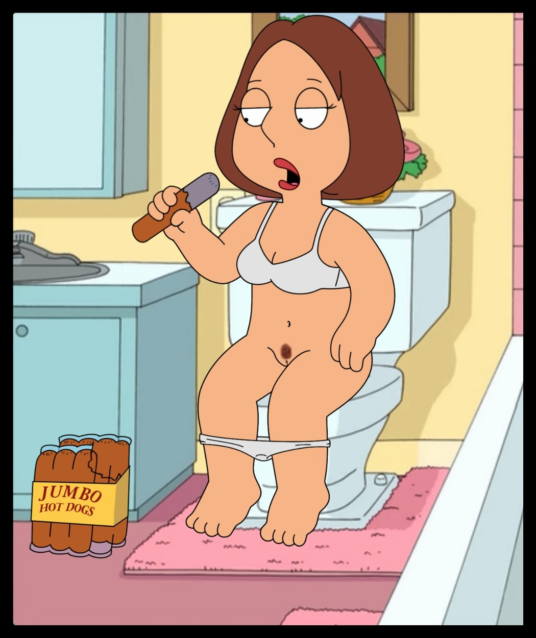 the naked family guy