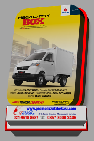 Mega Carry / Xtra Power Steering & AC dan Mega Carry Box 2014