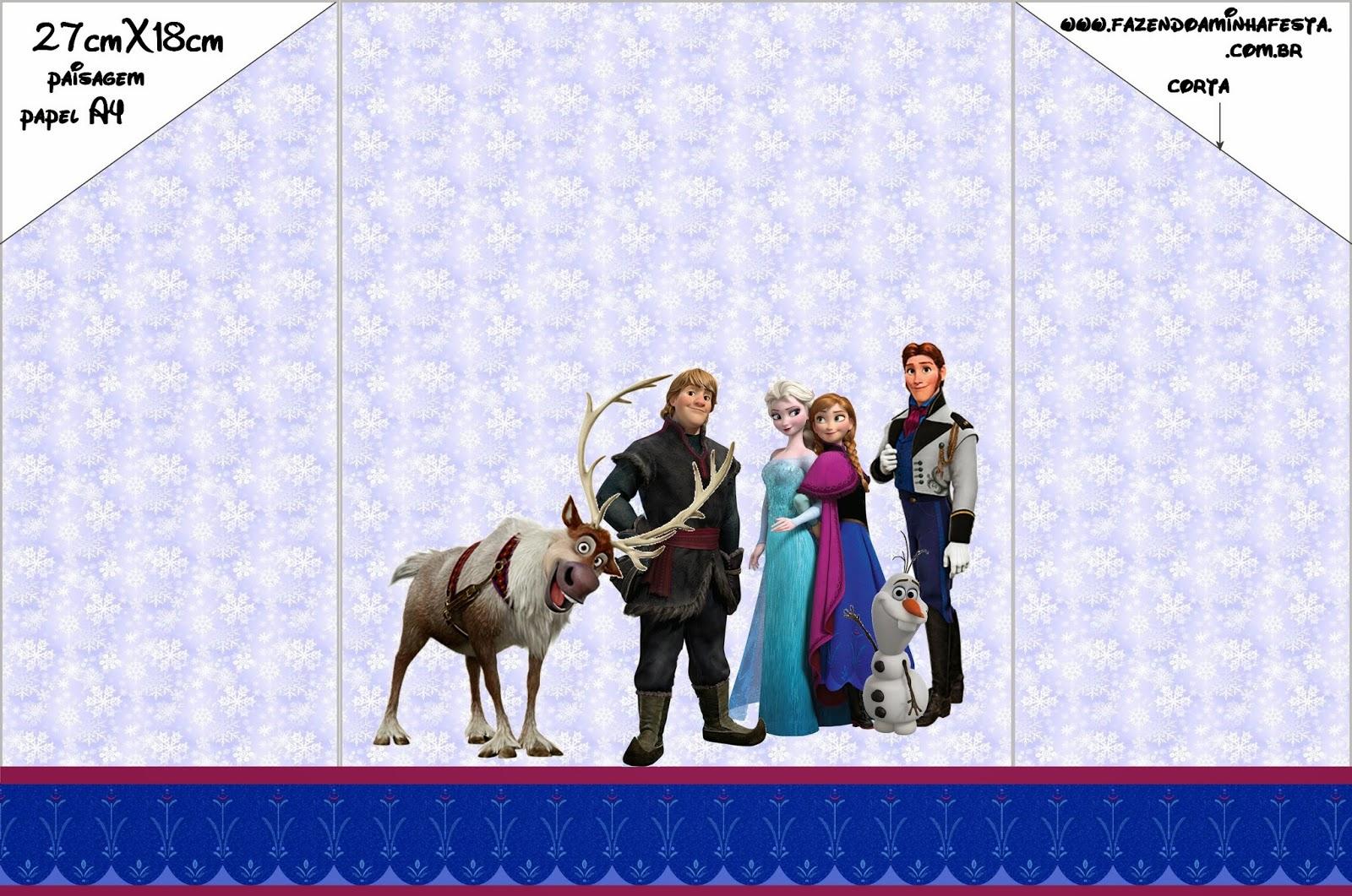 Fiesta Frozen Invitaciones Para Imprimir Gratis Ideas