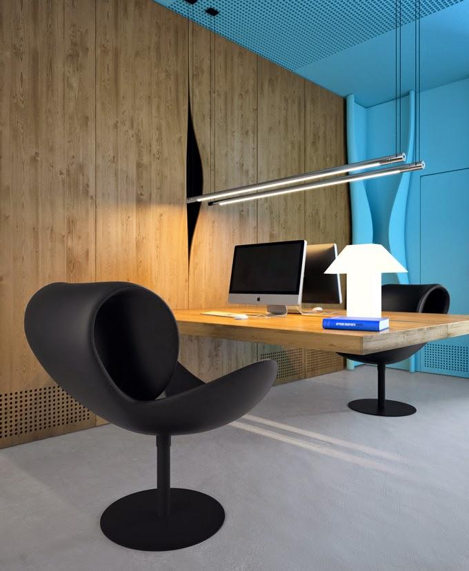Azure Office Interior Design Ideas 2