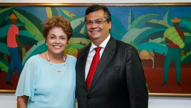 Dilma e Flávio