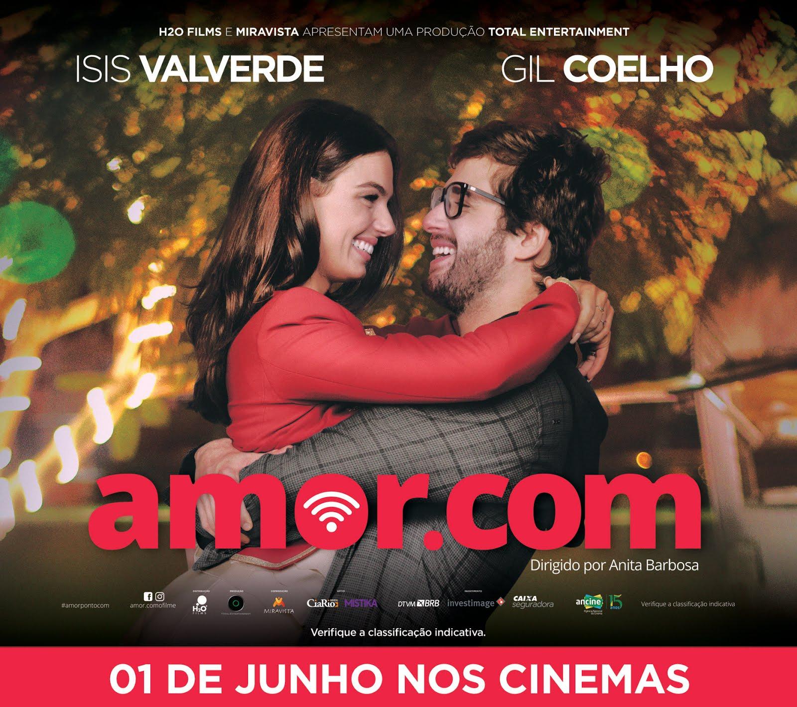 Quer ganhar convites para ver Amor.com? Saiba mais logo no Salvador por Stefano Diaz!