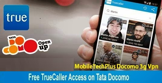 Tata Docomo TrueCaller Host 3g Vpn May-June 2014