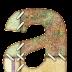 Alfabeto hecho con Retazos de Tela.