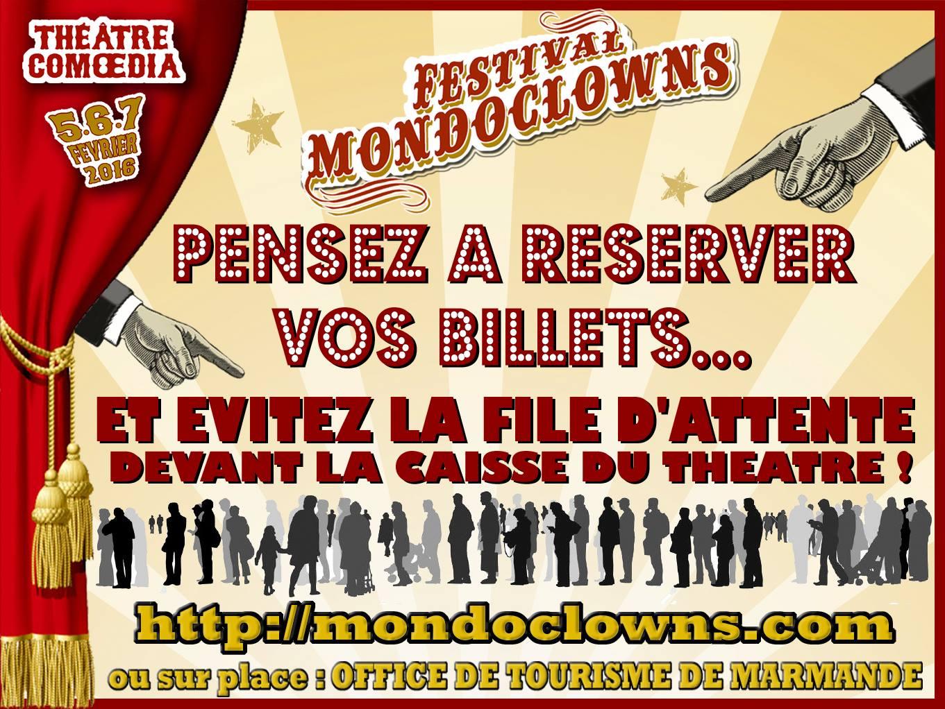 Burguscircus mondoclowns c 39 est bient t n 39 attendez pas for Reserver hotel a la derniere minute
