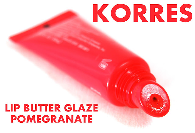 Korres Lip Butter Glaze in Pomegranate