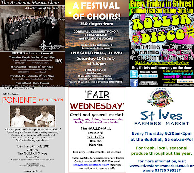 St Ives Guildhall - Summer Events