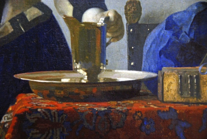 Johannes Vermeer - Young Woman with a Water Pitcher - Genre painting