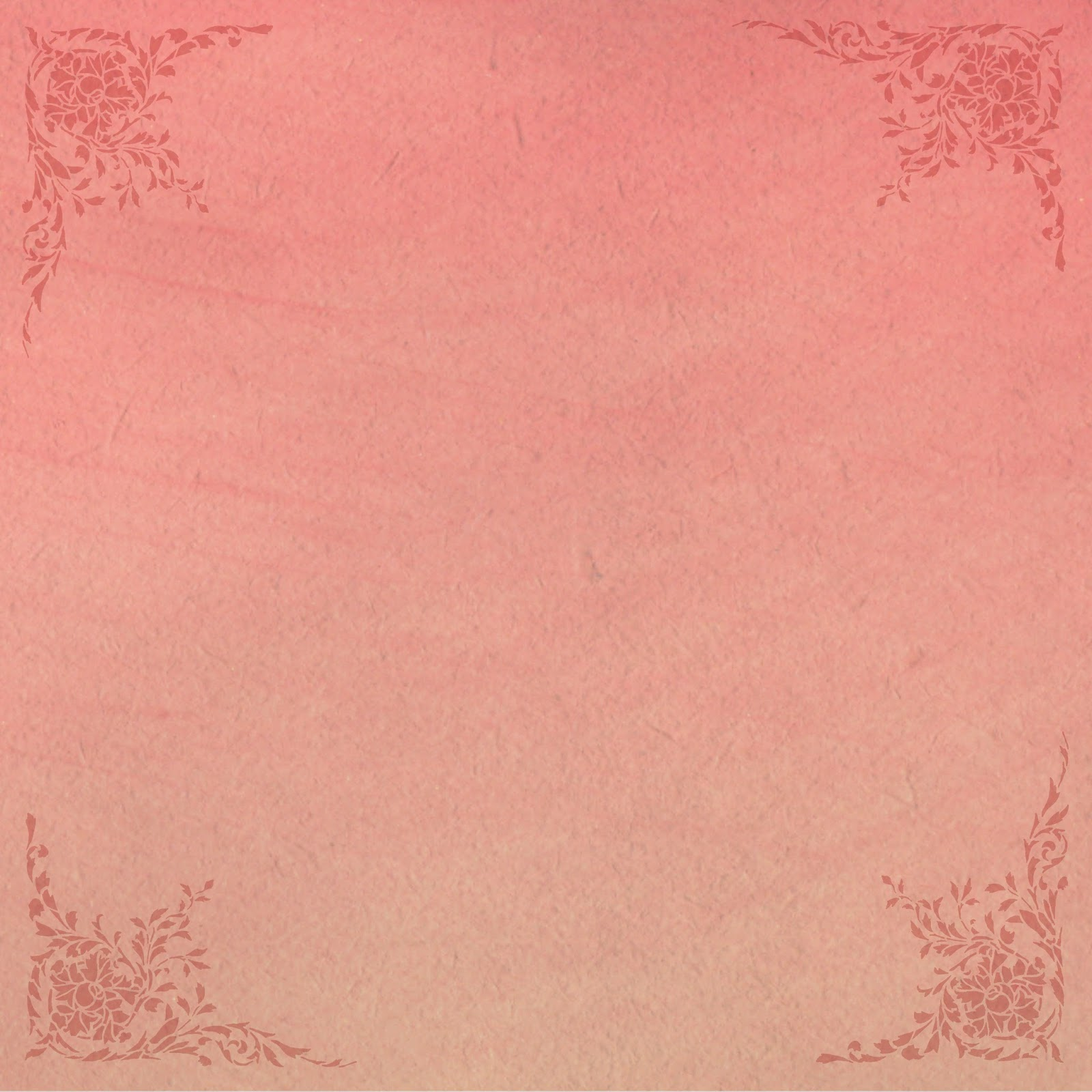 antique images  printable scrapbooking paper 12x12 pink