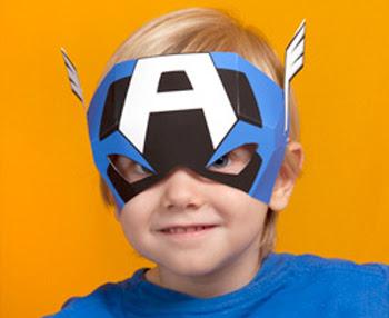 Printable Captain America Mask