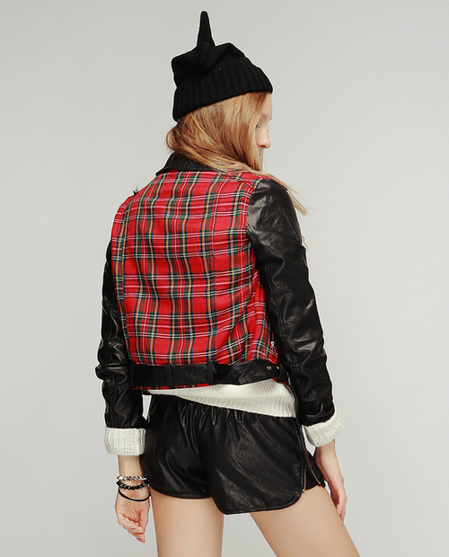 British Check Rider Jacket