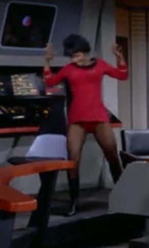 uhura upskirt