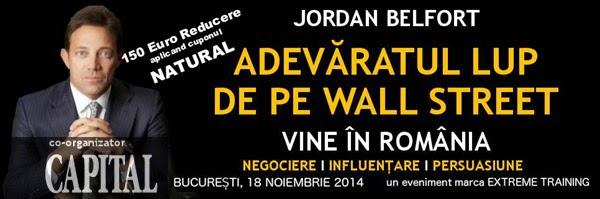Jordan Belfort - Reducere 150= 18 Nov