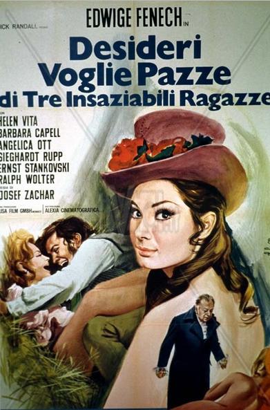 Desideri voglie pazze di tre insaziabili ragazze (1969)