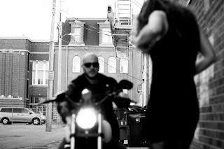 Pat Jensen Jon Helm Kayla Kuhlmann LYDF motorcycle and hot chick