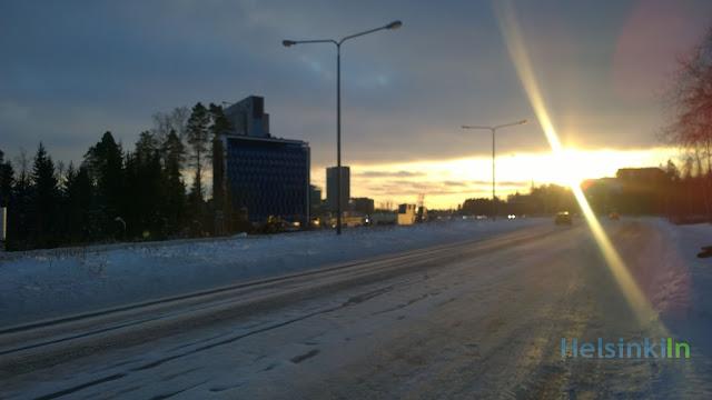 sunshine in Espoo