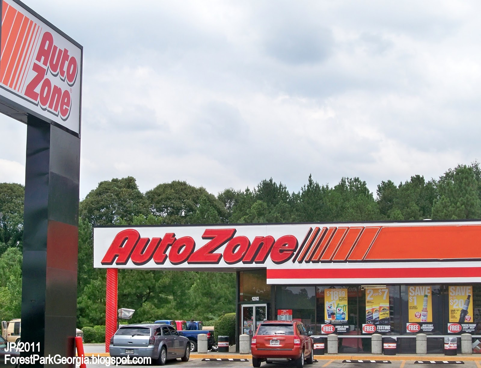 autozone and caterpillar
