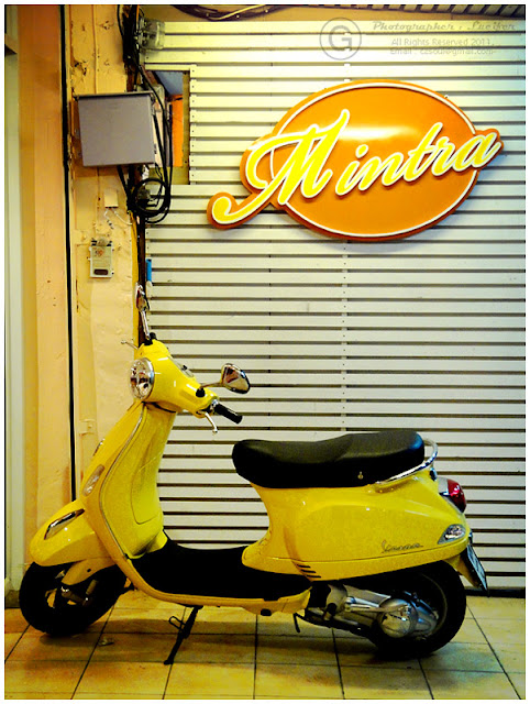 Photograph Vespa Motorcycle
