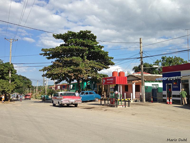 La rue principale à Viñales