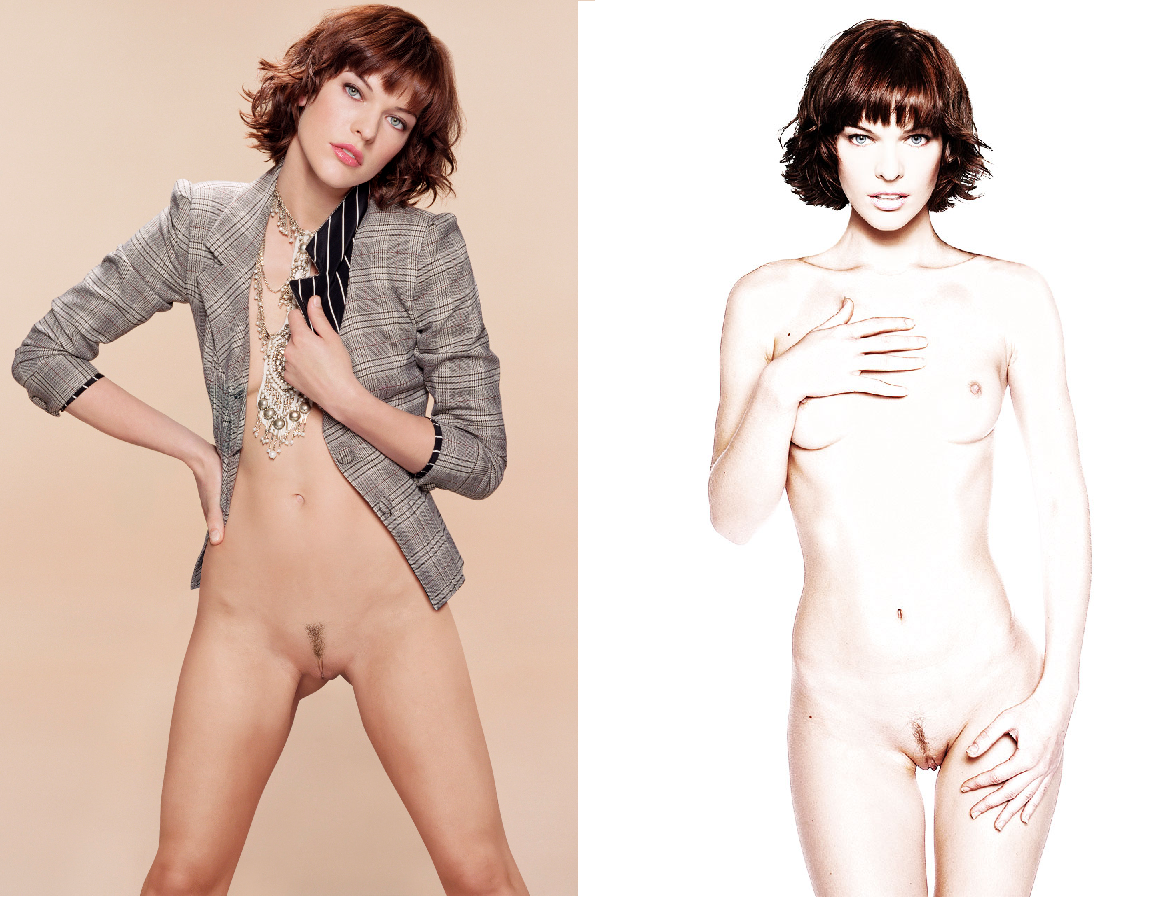 Milla Jovovich Nude Celebrity Naked