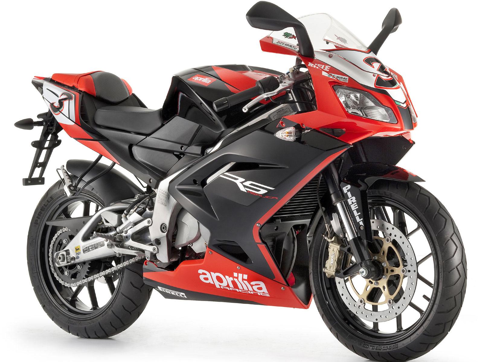 black rider aprilia rs 125