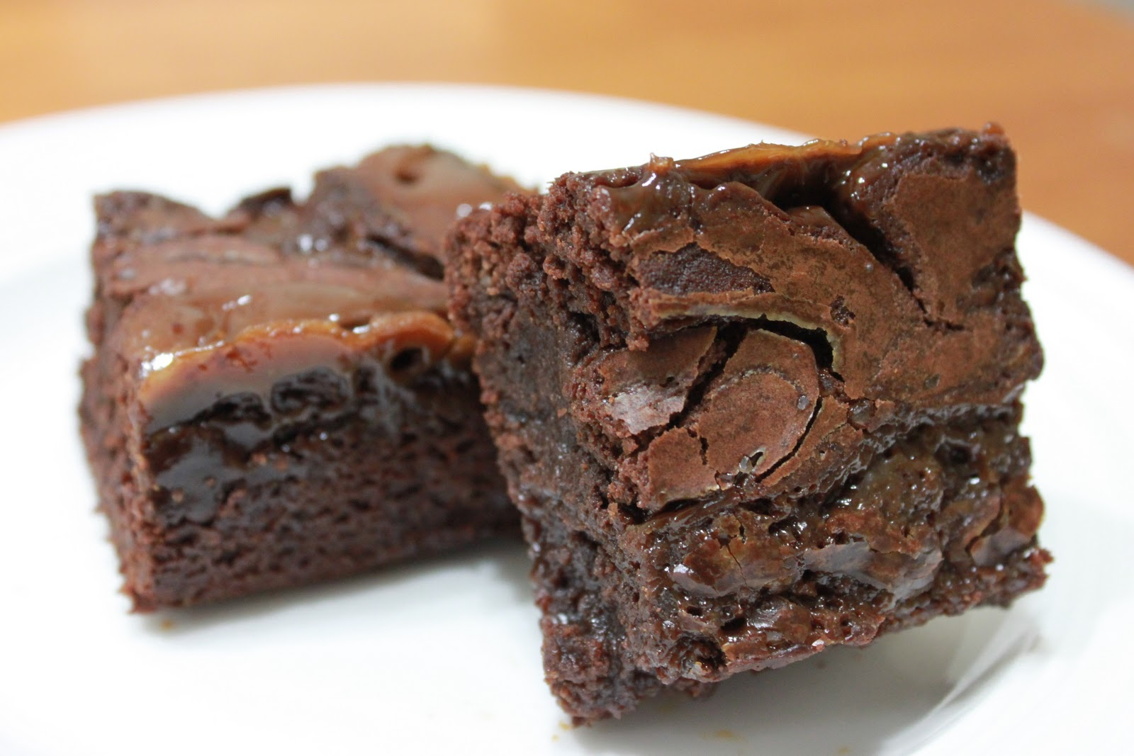 Domestic Revolt: Salted Caramel Brownies
