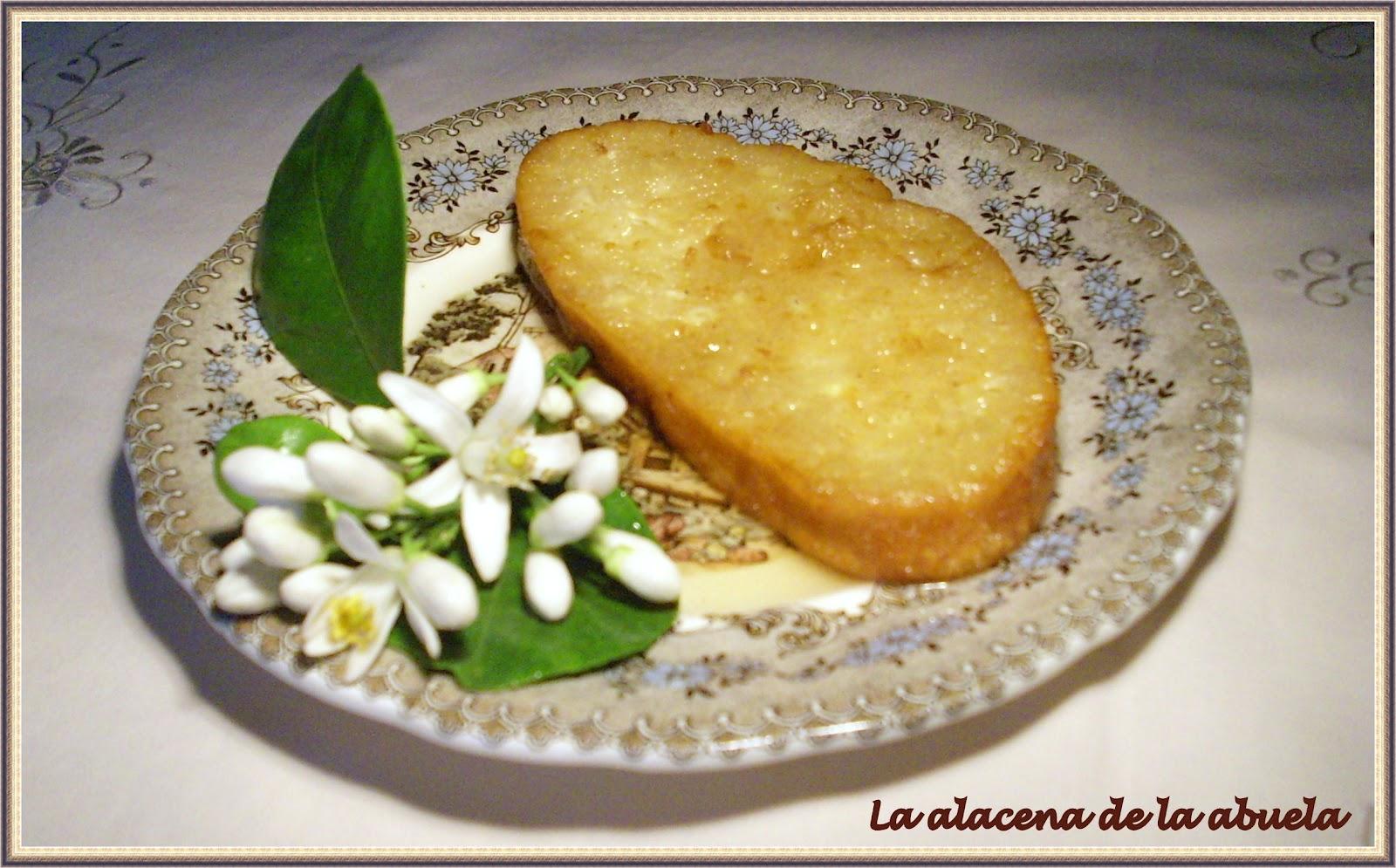 La alacena de la abuela carmen torrijas al aroma de azahar for Cocina casera de la abuela