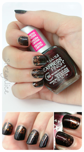 Maybelline Chic Chocolate with Cult Nails Captivated