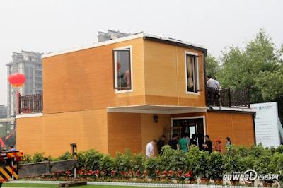 بناء منزل خلال 3 ساعات بالطباعة ثلاثية الأبعاد