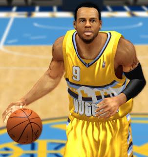 NBA 2K13 Andre Iguodala Cyberface Patches