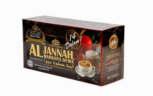 kopi mahkota dewa al jannah global marketing di indonesia