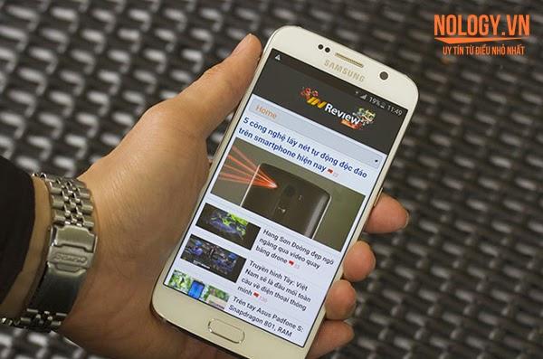 Màn hình của Samsung Galaxy S6 xịn