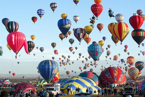 Albuquerque Hot Air Balloon Festival3