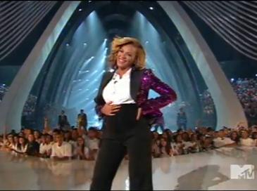 beyonce mtv 2011 performance music video