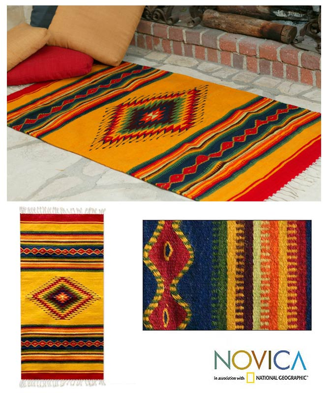 Mexican Rug Images: A Gentler World: Fair Trade Rugs