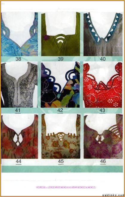 Ladies Blouse Neck Design 43
