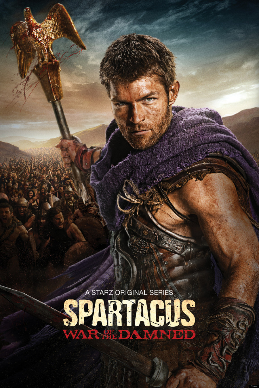 Spartacus 2013 War Of The Damned (HDTV) Final de Temporada Cap 1 al 10