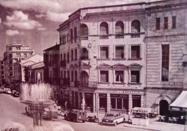 Salamanca en el ayer plaza de la puerta de zamora for Puerta zamora salamanca