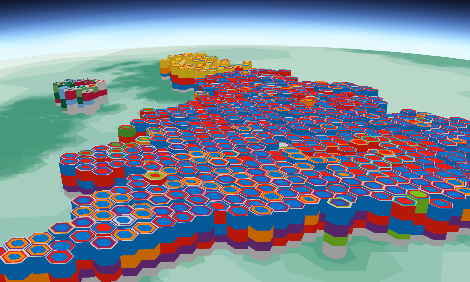 Cartonerd helecxagon mapping my 3d map as a work in progress gumiabroncs Images