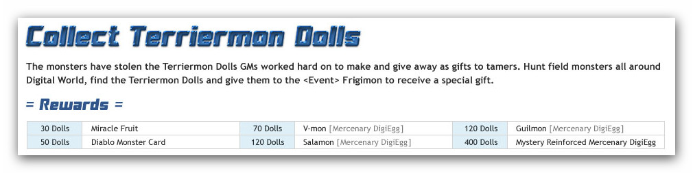 Digimon master online released dmo update april 17th 2012 reward for staying online negle Images