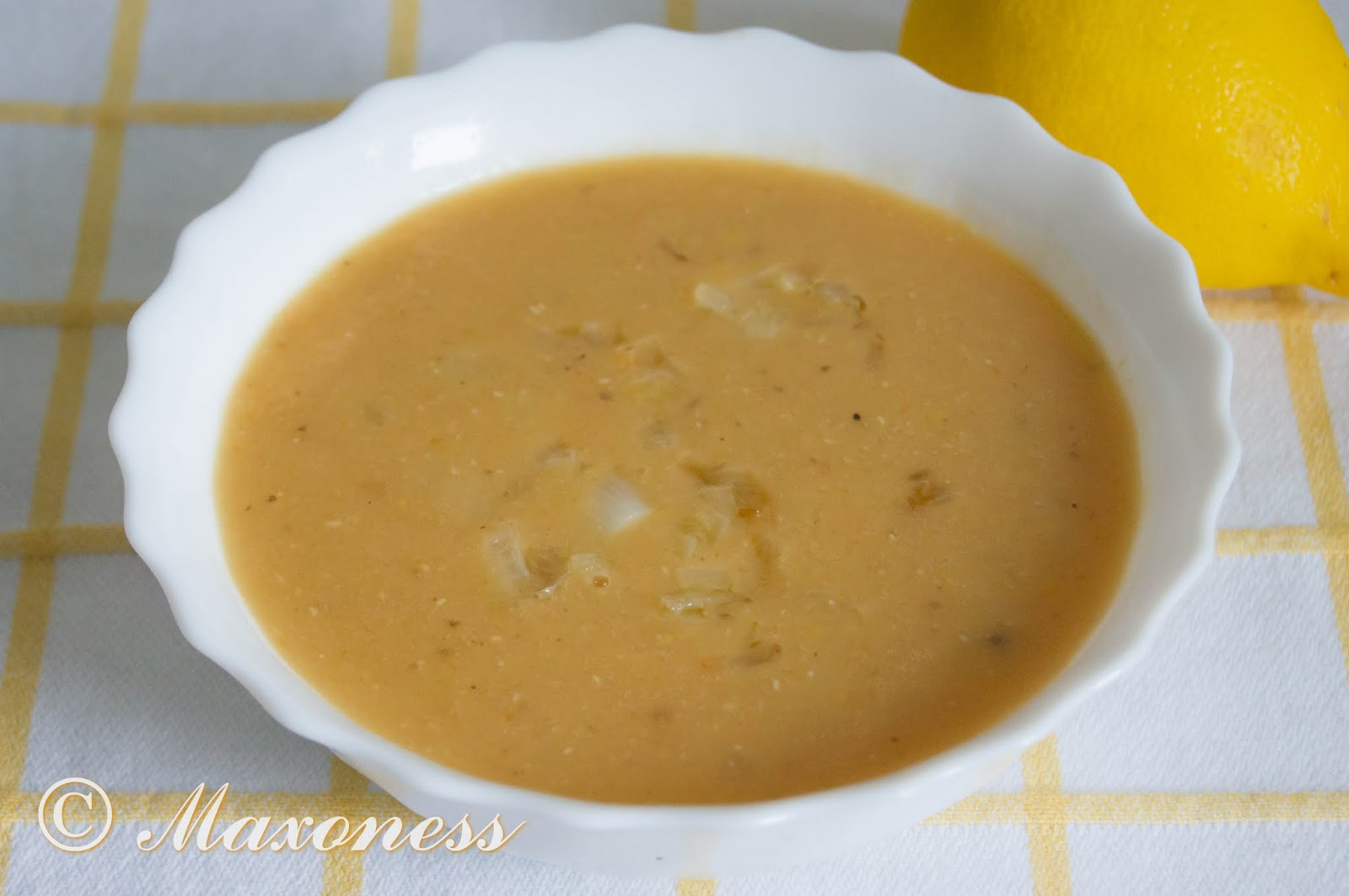 Чечевичная похлебка с чесноком. Египетская кухня