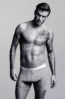 David Beckham for H & M, Gray Trunks