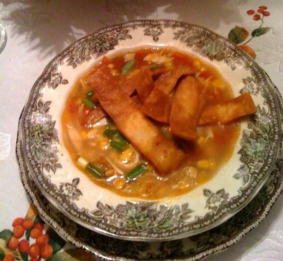 Chicken Fajita Soup Recipe — Dishmaps