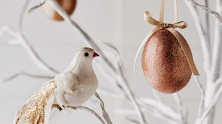 Adornos de Navidad con Huevos, Ideas para Decorar el Arbol de Manera Natural