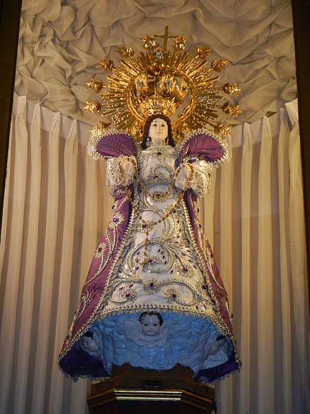 Icon of Our Lady of Good Remdies in Malate Church
