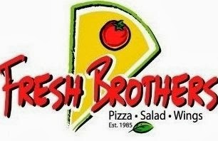 Lunch at Fresh Brothers Pizza with VeegMama