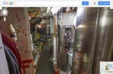 Google Street View permite ver un submarino por dentro
