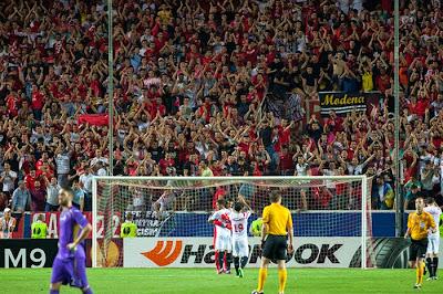 Crónica Sevilla FC 3 Vs Fiorentina 0