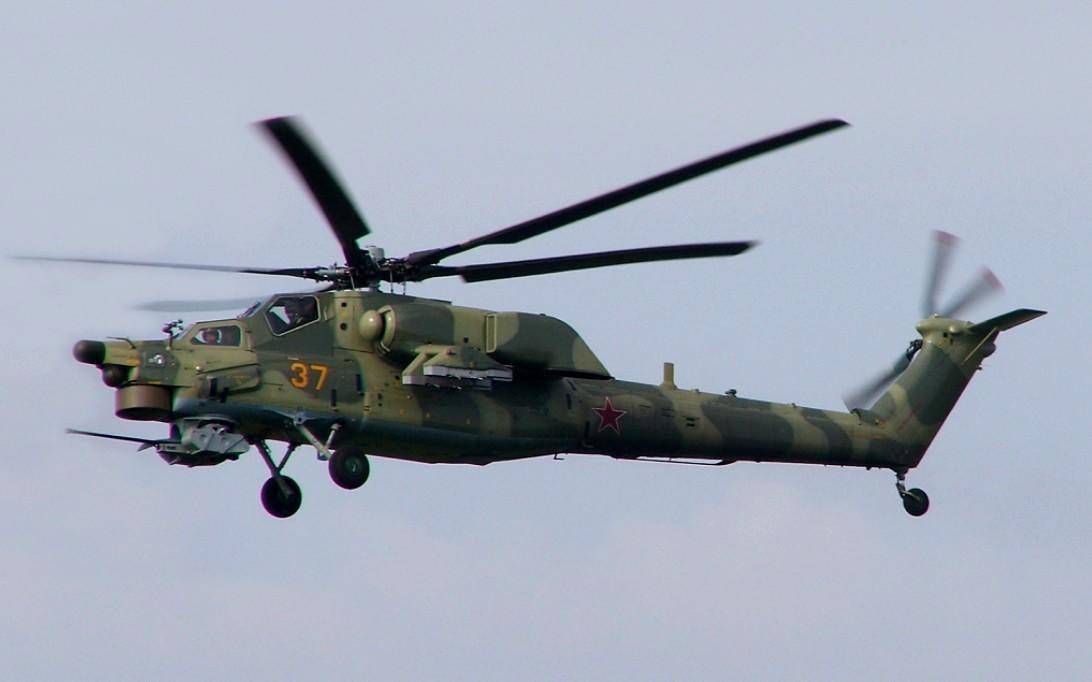 Mi-28 Havoc attack helicopter wallpaper 4