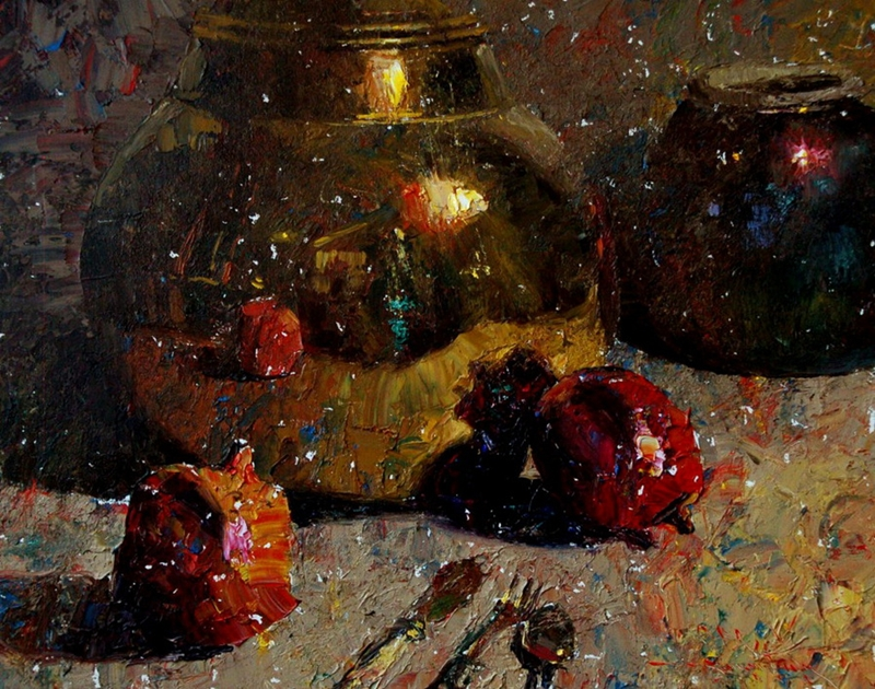 Still life | Charles Warren Mundy 1945 | American impressionist painter